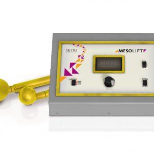 naprava za mezoterapijo/mezoporacijo